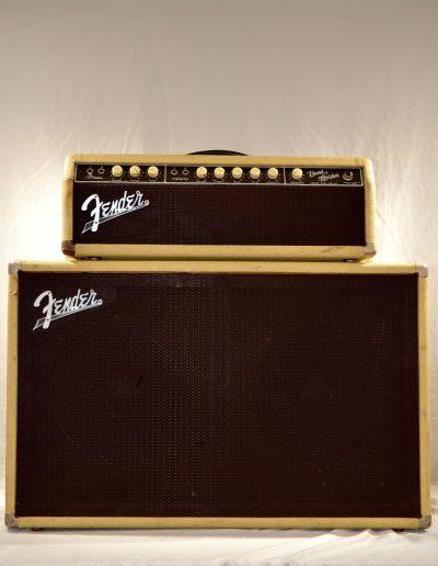 1962 Fender Bandmaster Piggy Back Amp