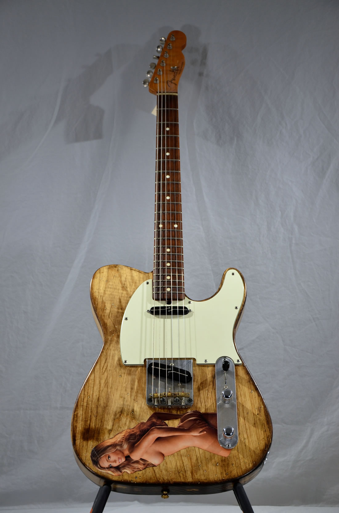 "Fender ""Naked Parts"" Telecaster"