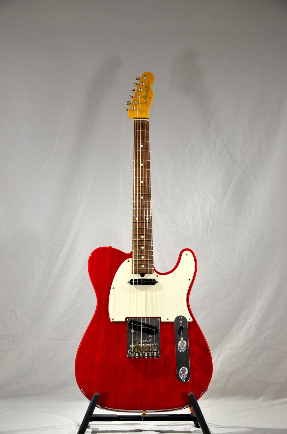 Fender Telecaster Guitar – Crimson Red, Modern Parts
