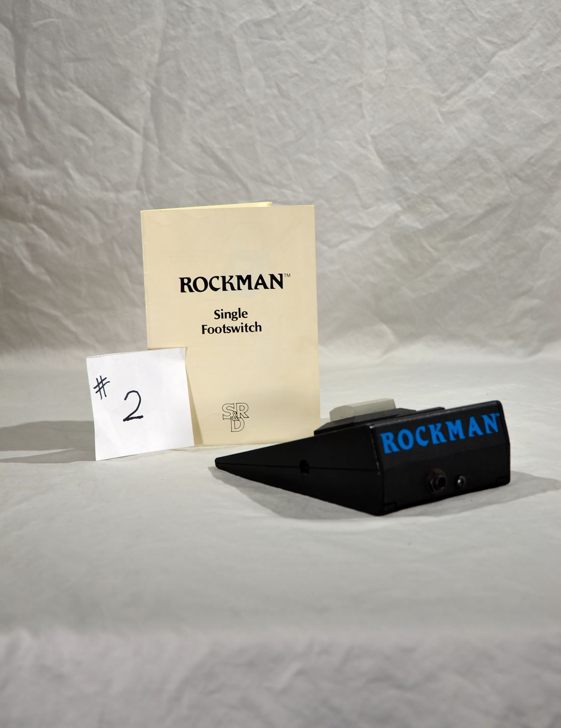 "#2 SR&D  ""RockMan"" Single Foot Switch"