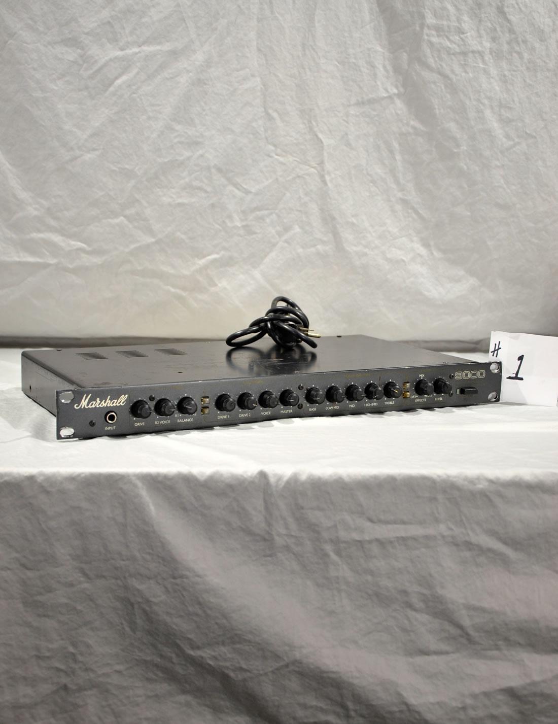 Marshall 9001 Stereo Valve Pre-amp #1