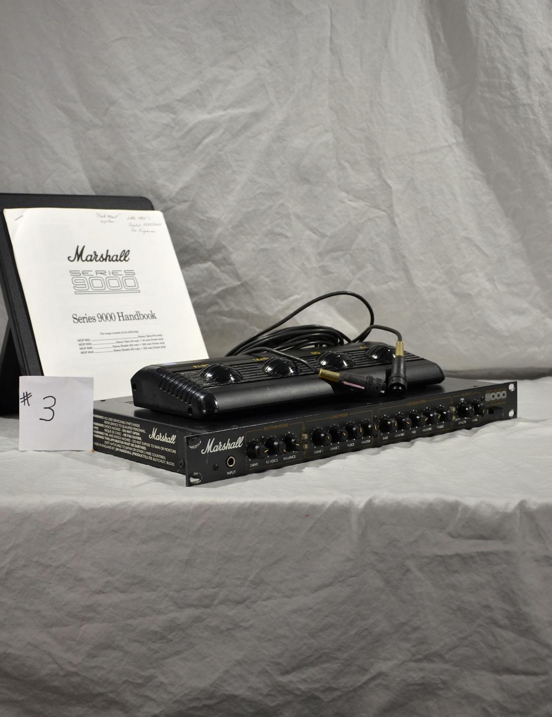 Marshall 9001 Stereo Valve Pre-amp #3