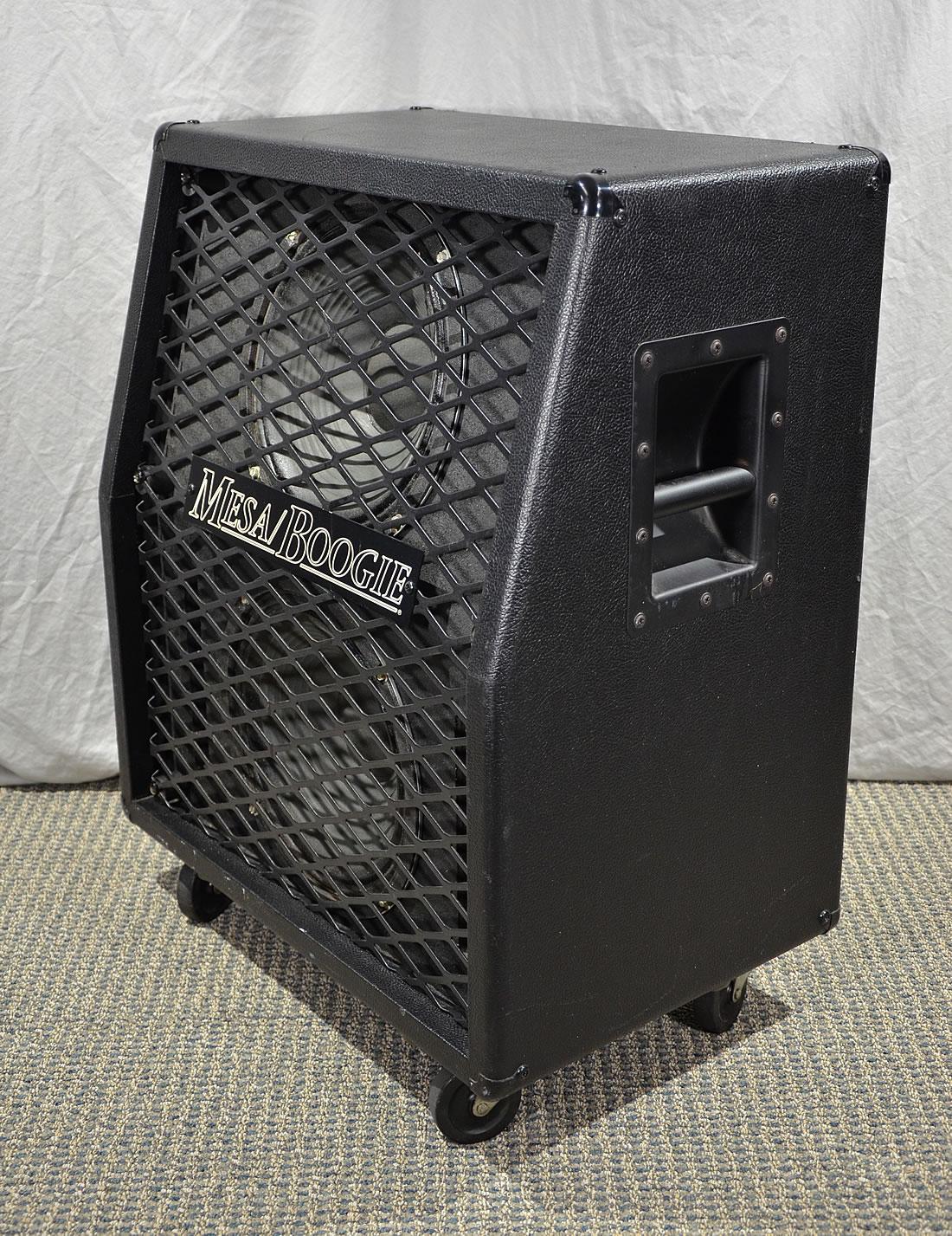 mesa boogie 2x12 speaker cabinet 1 vintage guitars and amps. Black Bedroom Furniture Sets. Home Design Ideas