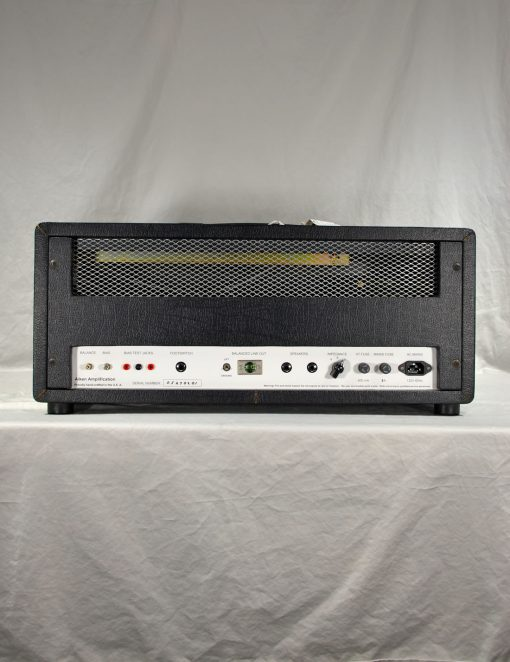 Aiken Invader Amp back