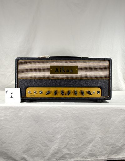 2004 Aiken Intruder Amp Head #1