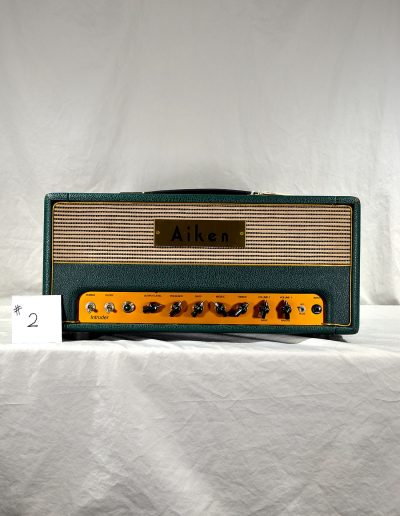 2004 Aiken Intruder Amp Head #2