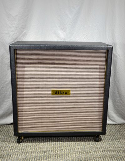 Aiken 4×12 Speaker Cabinet  (100 Watts ) Early 2003-2005
